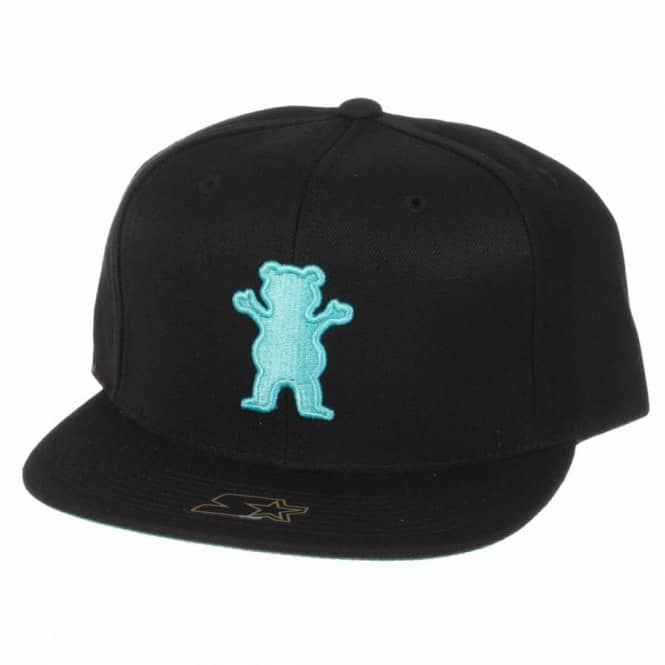 689acaa2320 Grizzly Griptape Diamond Supply Co. Grizzly Puff Bear Snapback Cap ...