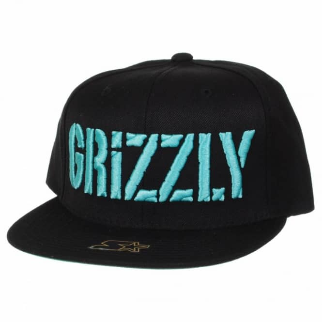 e1cf22510a9 Grizzly Griptape Diamond Supply Co. Grizzly Puff Stamp Snapback Cap ...