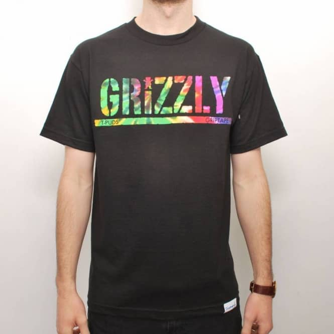 dabc12b54cf Diamond Supply Co. Grizzly Torey Pudwill Stamp Skate T-Shirt - Black