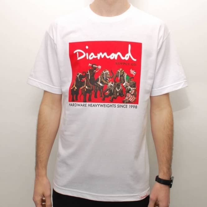 Diamond Supply Co Hardware Heavyweights T-Shirt Black