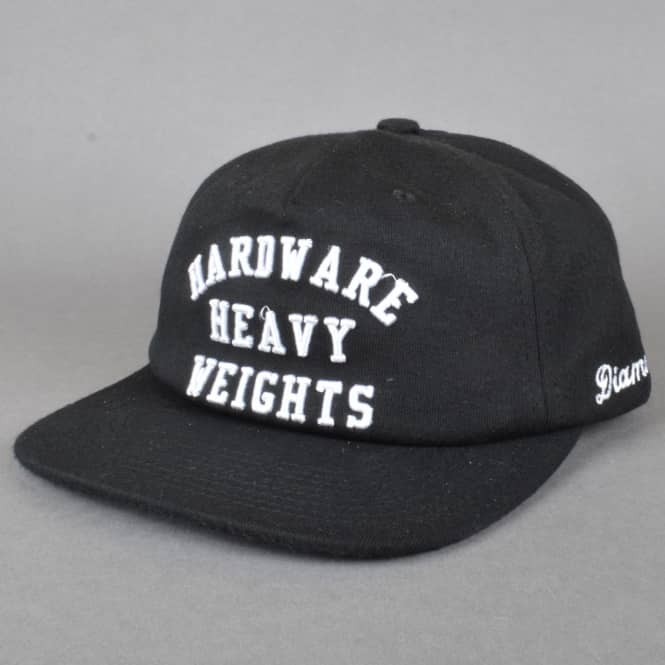 Diamond Supply Co. Hardware Heavyweights Snapback Cap - Black