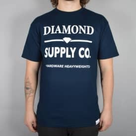 Diamond Supply Co Hardware Lock T-Shirt - Navy