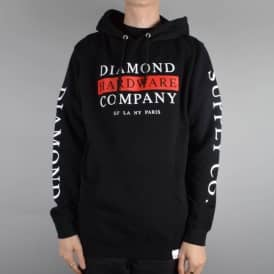Diamond Supply Co. Hardware Stack Pullover Hoodie - Black