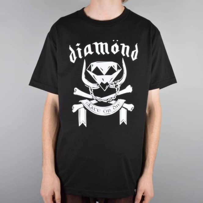 Diamond Supply Co Head Skate T-Shirt - Black