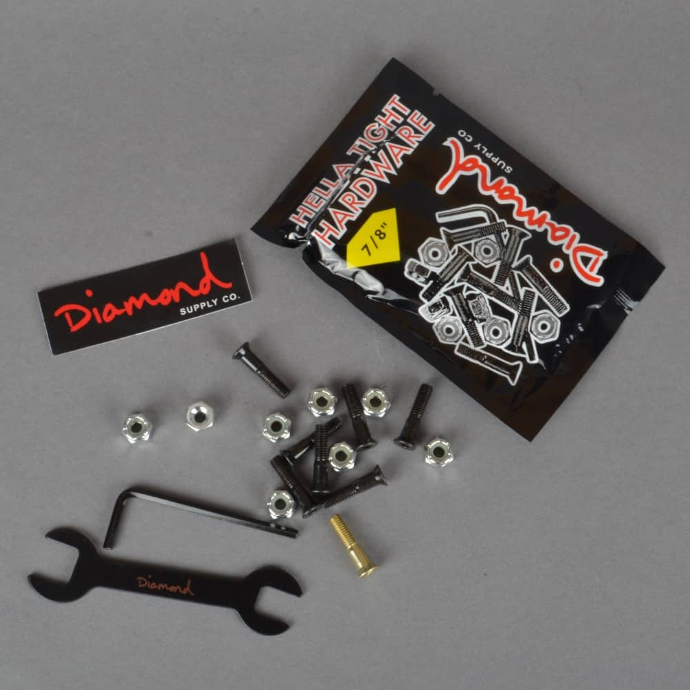 Diamond Supply Co. Hella Tight Hardware Skateboard Bolts - 0.78 ... e1818d810