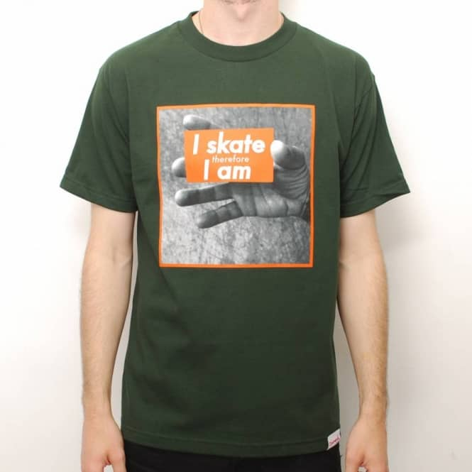 Diamond Supply Co. Diamond Supply Co. I Am Skate T-Shirt - Hunter Green