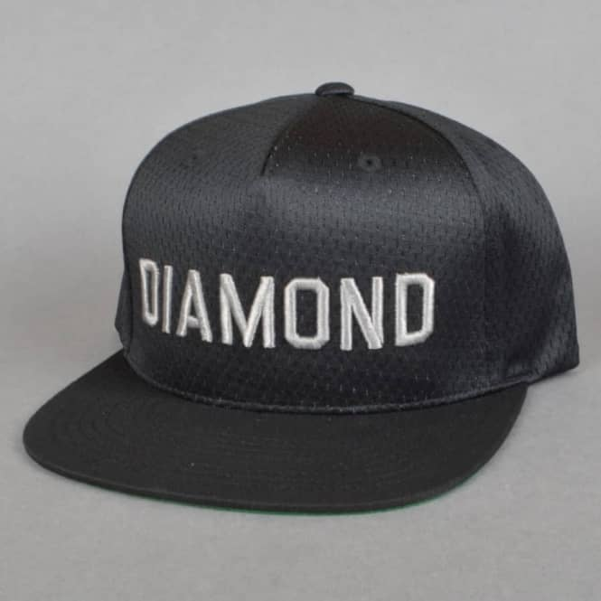 Diamond Supply Co. Jackson Snapback Cap - Black