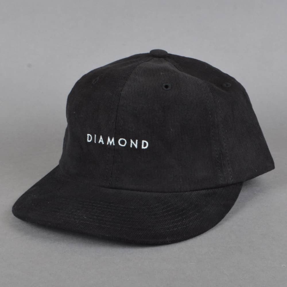 68a19c20d3a01c Diamond Supply Co. Leeway Unstructured Snapback Cap - Black - SKATE ...