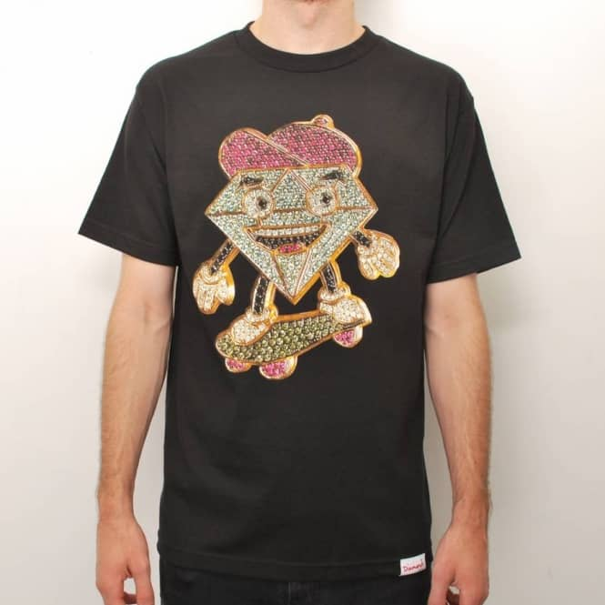 Diamond Supply Co. Diamond Supply Co. Lil Cutty x Ben Baller Skate T-Shirt - Black