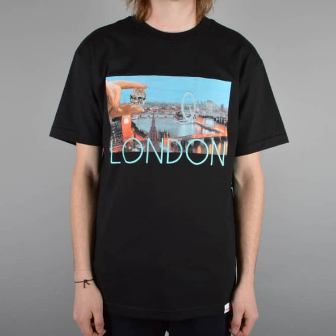 Diamond Supply Co. London Life Skate T-Shirt - Black