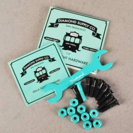 Diamond Supply Co. Mike Carroll Skateboard Truck Bolts 0.78