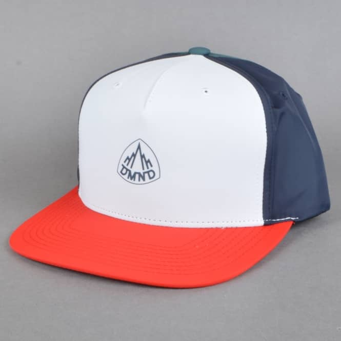 Diamond Supply Co. Mountaineer Snapback Cap - Red/White/Blue