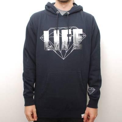 Diamond Supply Co. NY Diamond Life Hoodie - Navy - Hooded ... - photo#40