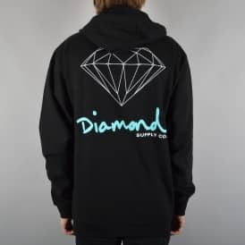 Diamond Supply Co. OG Sign Zip Hoodie - Black