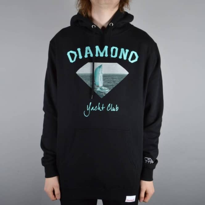Diamond Supply Co OG Yacht Club Hoodie - Black
