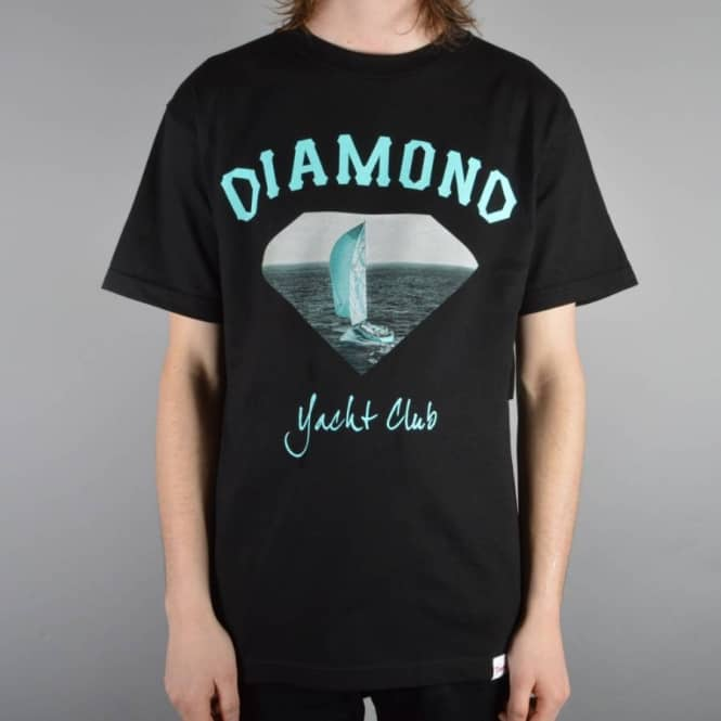 Diamond Supply Co. OG Yacht Club T-Shirt - Black