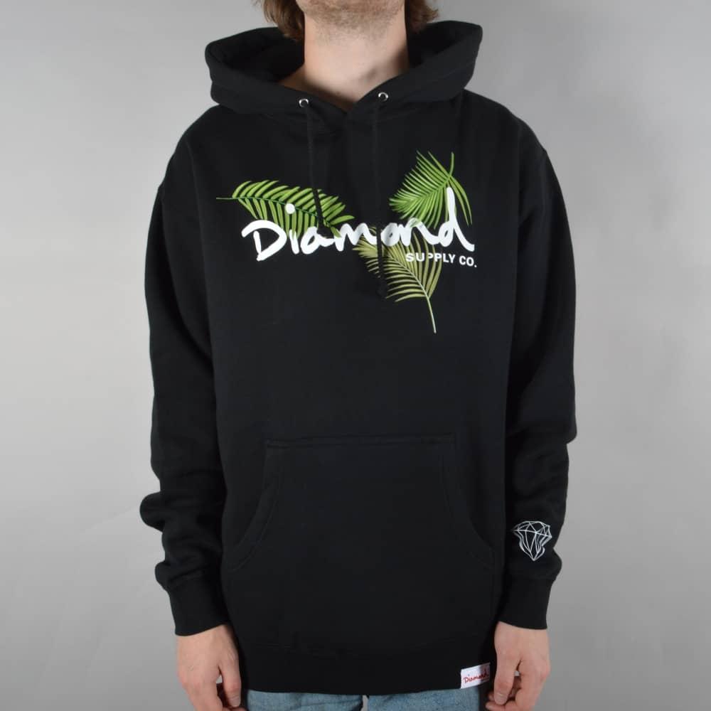 Black t shirt hoodie - Paradise Og Script Pullover Hoodie Black