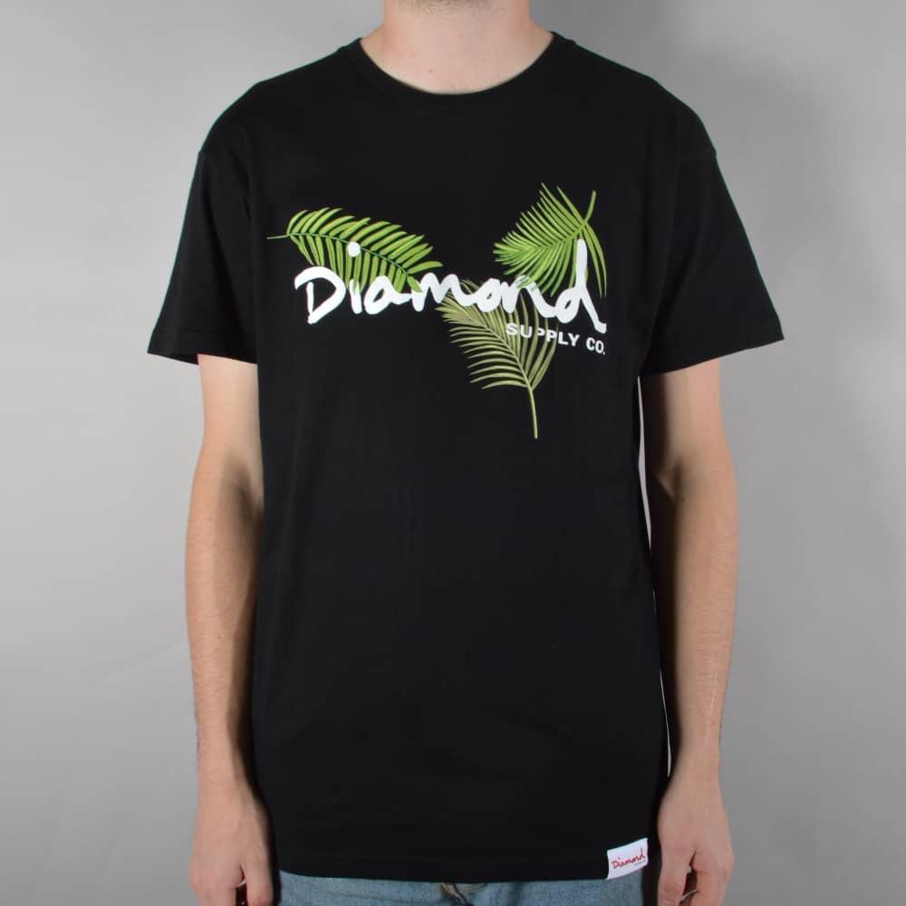 Diamond Supply Co. Paradise OG Script T-Shirt - Black - SKATE ... 6974f160e703