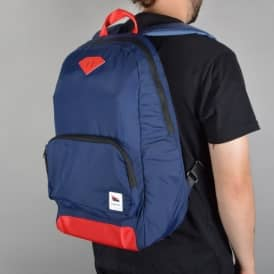 Diamond Supply Co Pavillion Daypack Backpack - Navy/Red