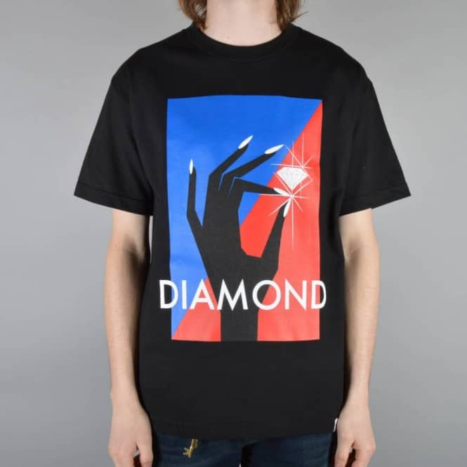 Diamond Supply Co Pinch Skate T-Shirt - Black