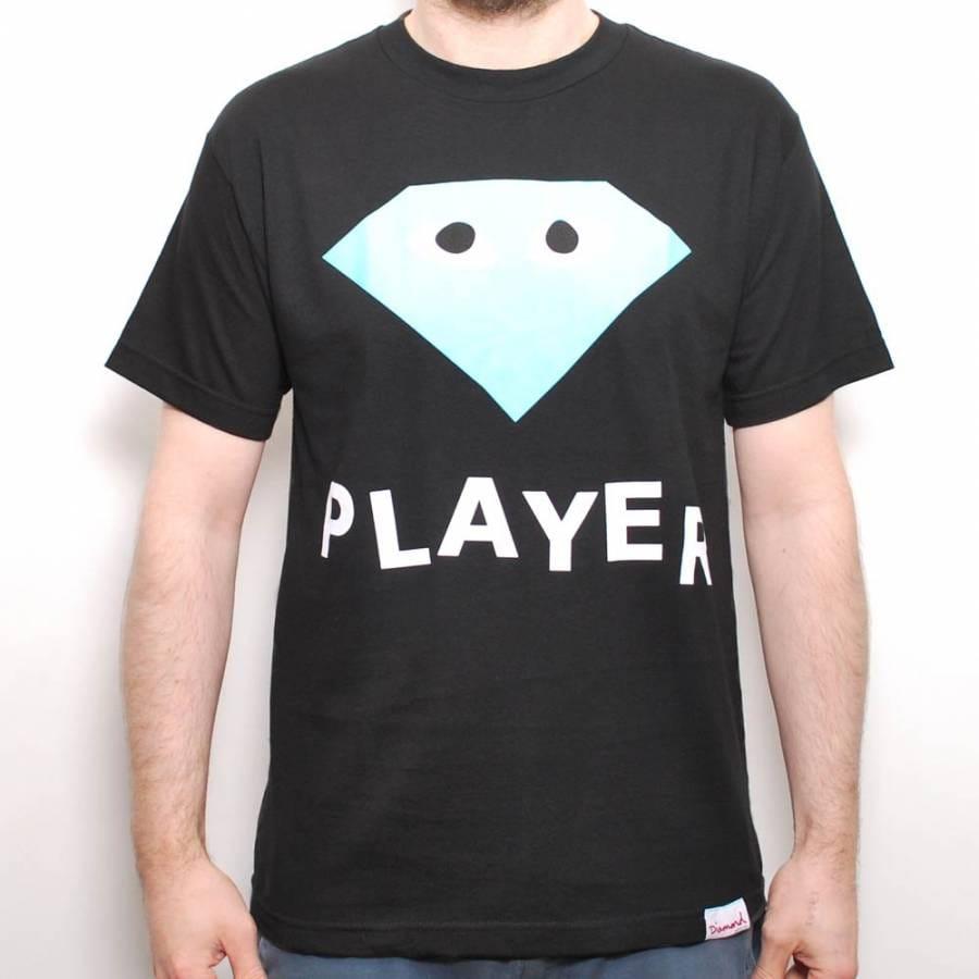 diamond supply co diamond supply co player skate tshirt