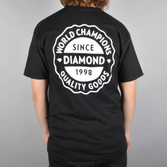 Diamond Supply Co. Quality Goods Skate T-Shirt - Black