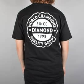 Diamond Supply Co Quality Goods Skate T-Shirt - Black