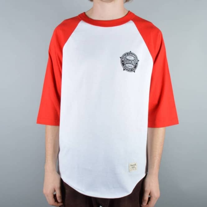 Diamond Supply Co. Renowned Raglan T-Shirt - Red