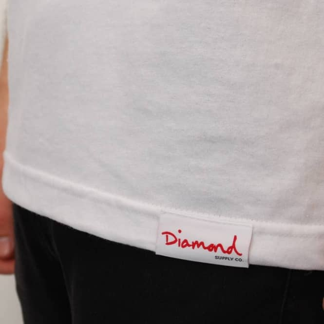 6215793ce4545 Diamond Supply Co. Retro Tank Top - White - SKATE CLOTHING from ...