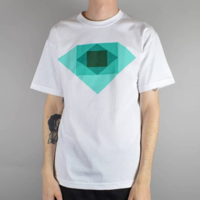 Diamond Supply Co Rotoscope T-Shirt - White