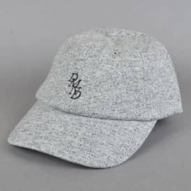Serif Strapback Cap - Heather Grey