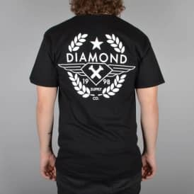Diamond Supply Co Shine Crest T-Shirt - Black