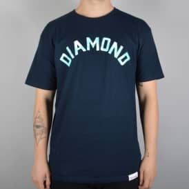 Diamond Supply Co Simplicity Arch Skate T-Shirt - Navy