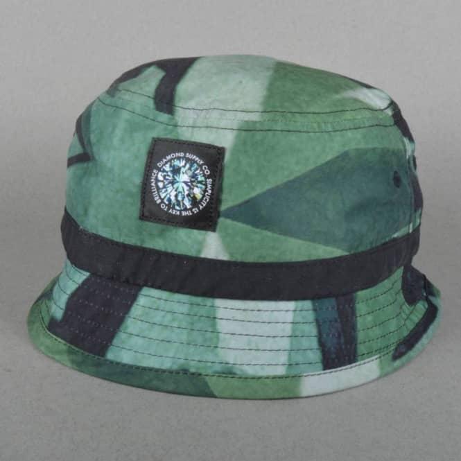 97e68bc7a3f01 Simplicity Bucket Hat - Green. Diamond Supply Co.