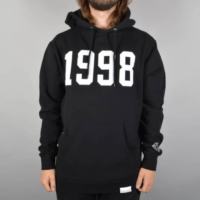 Diamond Supply Co Since 1998 Pullover Hoodie - Black