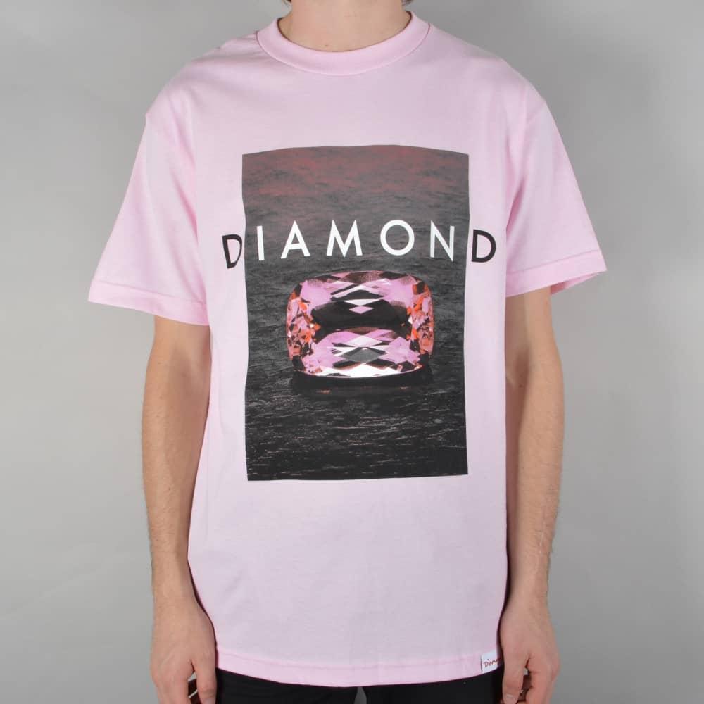 Diamond Supply Co. Spectrum Skate T-Shirt - Pink - SKATE CLOTHING ... 33de67035b7c