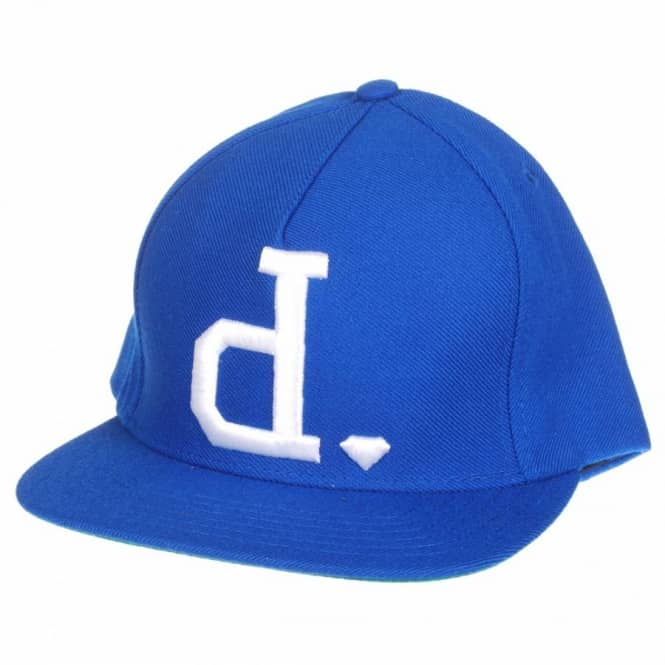 Diamond Supply Co. Diamond Supply Co Un-Polo Snapback Cap - Blue/White