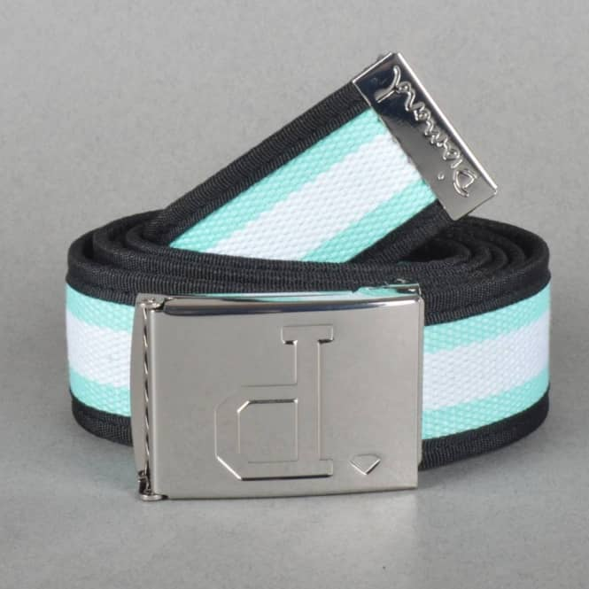 Diamond Supply Co. Un-Polo Two Tone Web Belt - White/Diamond Blue