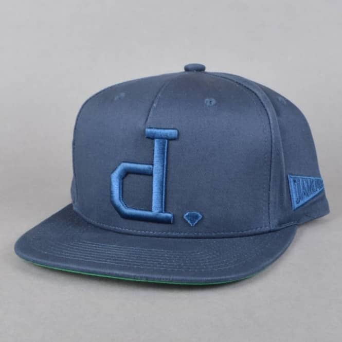 Diamond Supply Co. Unpolo Snapback Cap - Navy