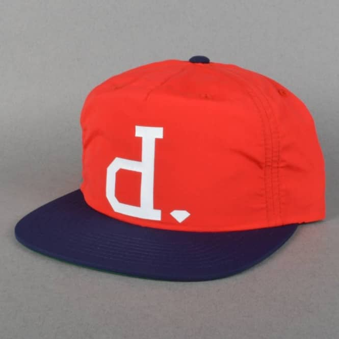 Diamond Supply Co. Unpolo Snapback Cap - Red