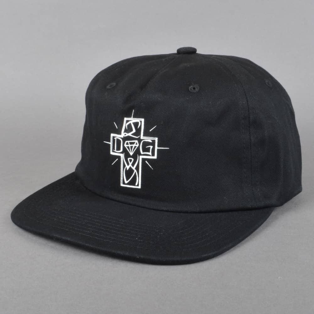a3b4f47e40781 Diamond Supply Co. x Dogtown Strapback cap - Black - SKATE CLOTHING ...