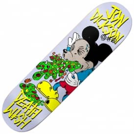 Deathwish Skateboards Dickson Death Toons Reissue Skateboard Decks 8.25""