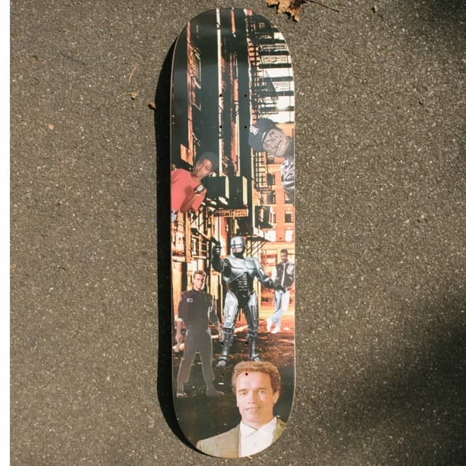 Alltimers Diff Cops Skateboard Deck 8.3