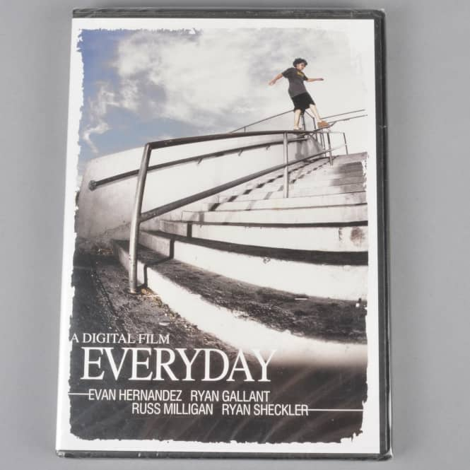 Digital Everyday Skateboard DVD