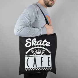 Diner Logo Tote Bag - Black