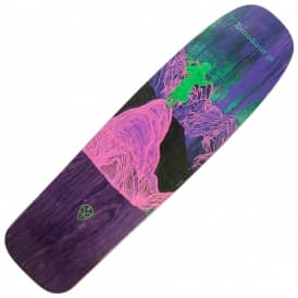 Dinosaur Jr. Give A Glimpse Old Skool (Purple Stain) Skateboard deck 8.75