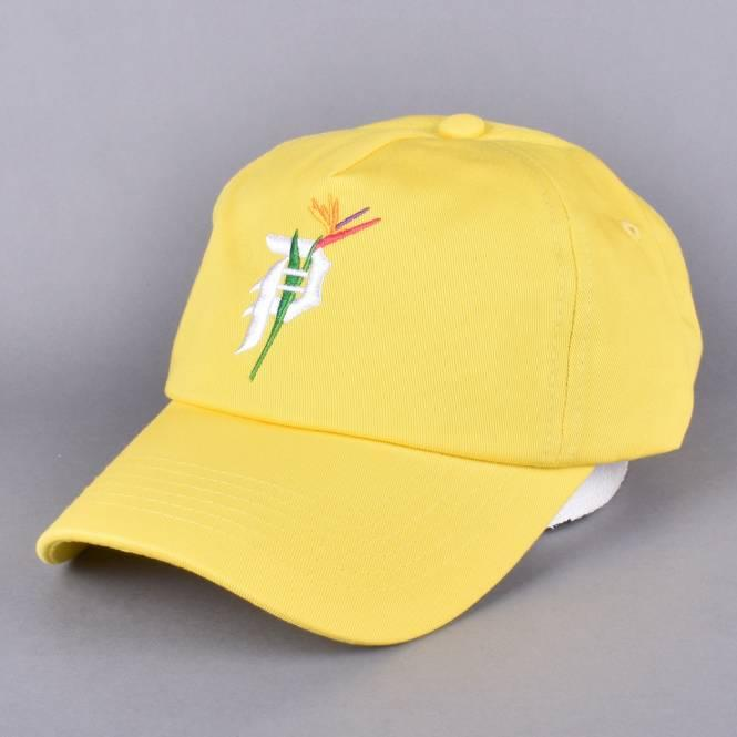 Primitive Skateboarding Dirty P Paradise Dad Cap - Yellow