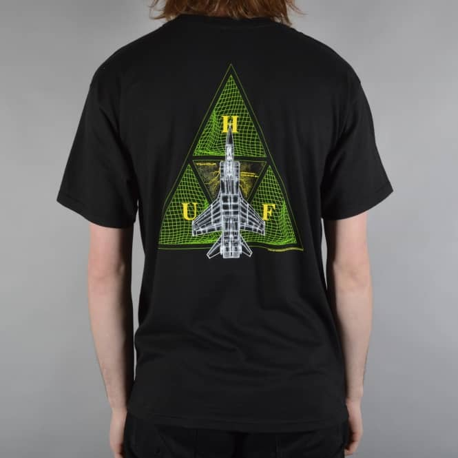 HUF Disaster Ops Triangle T-Shirt - Black