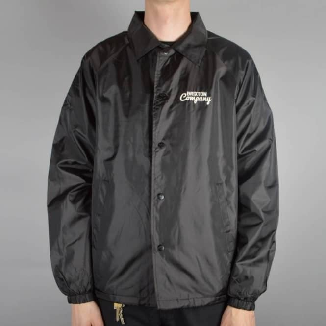 Brixton Ditmar Coach Jacket - Black
