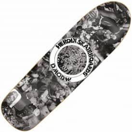 Heroin Skateboards DMODW Collage Skateboard Deck 9.5""